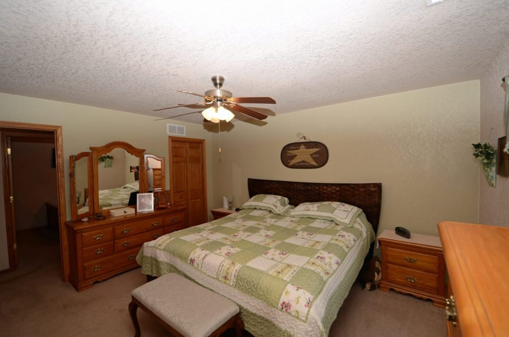 510 Country Club Lane Master Bedroom 2