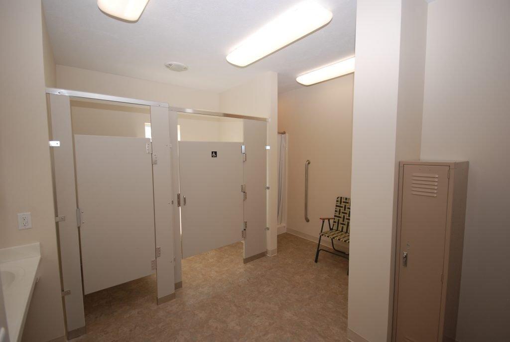 Womens Club House Locker Room