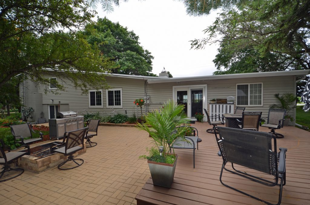 4. Back Patio and Deck