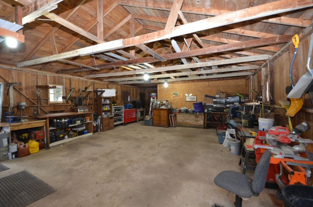 9. Shed Interior